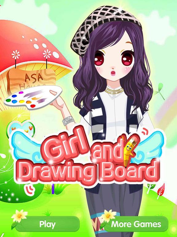 App Shopper Girl And Drawing Board Fashion Princess Beauty Salon Game Games