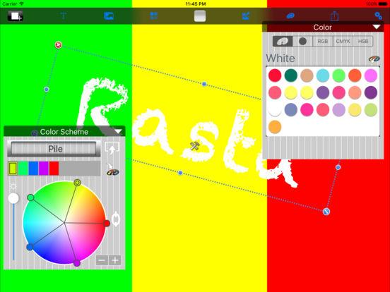 Color Palette iPad Screenshot 1