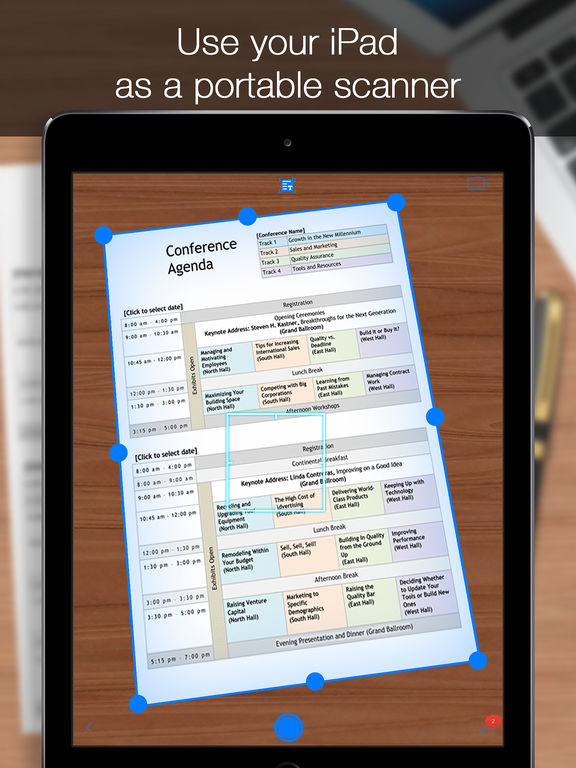 iScanner - PDF Document Scanner App Screenshots