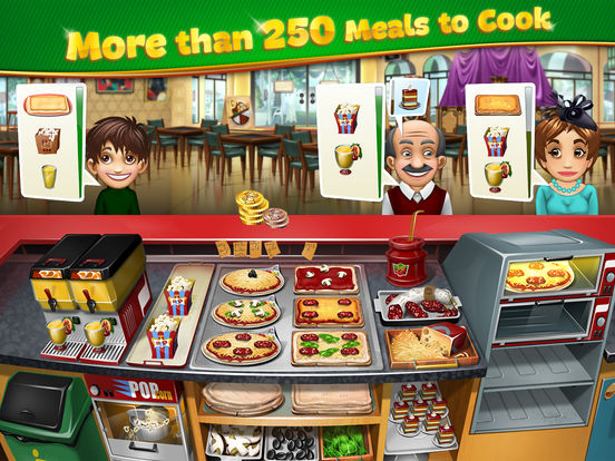 Screenshots of Cooking Fever for iPad