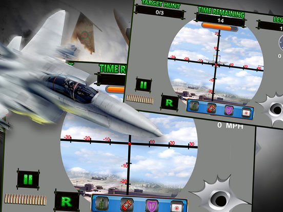 Jet Shooter Clash - A Full Clan-ipad-2