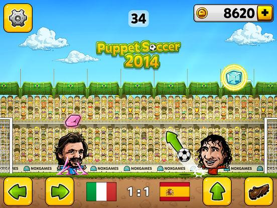 Puppet Soccer 2014 - футбол - Чемпионат мира марионеток Скриншоты8