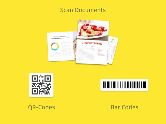 Scanbot 6 - PDF Document & QR-Code Scanner Screenshots