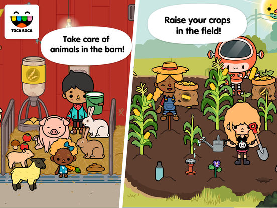 Toca Life: Farm Screenshots