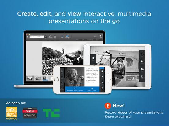 FlowVella Presentation App screenshot