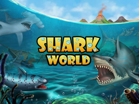 Shark World: Sharks & Jurassic sea animal fighting games screenshot