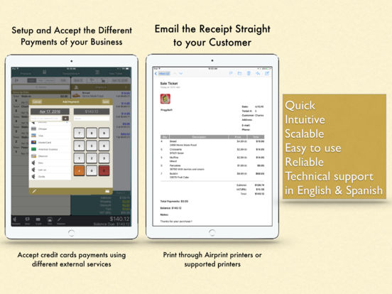 Ring It Up HD: Invoicing POS iPad Screenshot 5