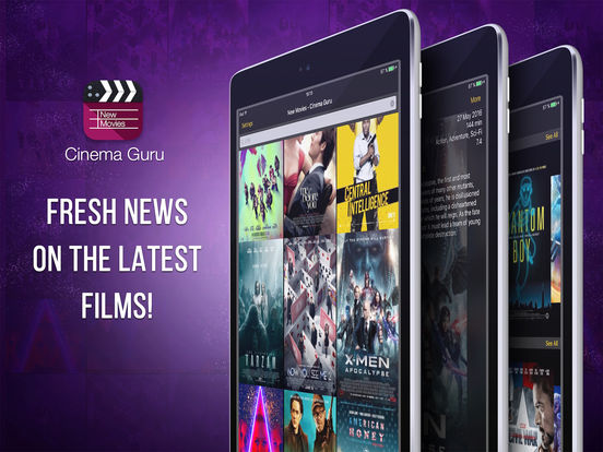 New Movies - Cinema Advisor PRO Screenshots