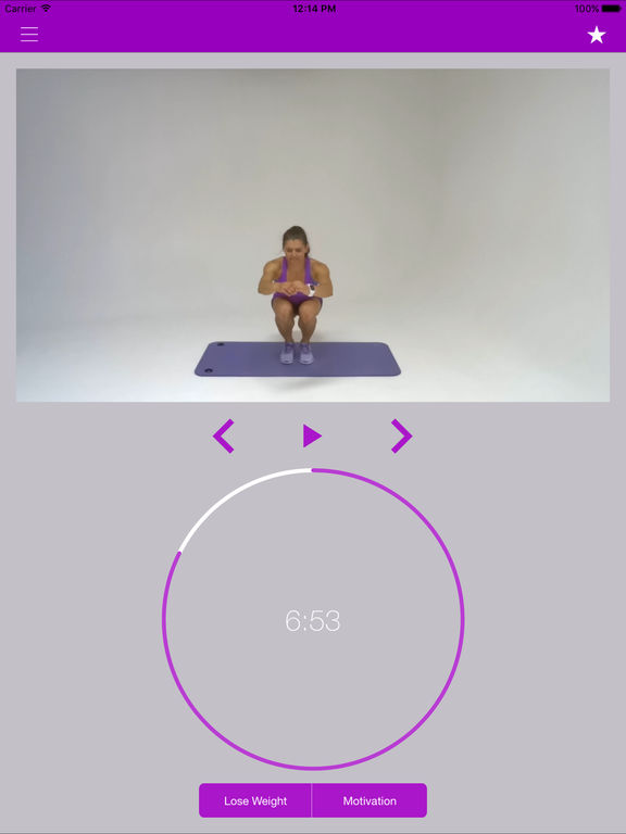 Leg Exercises and Thigh Workouts Training Routine Screenshots