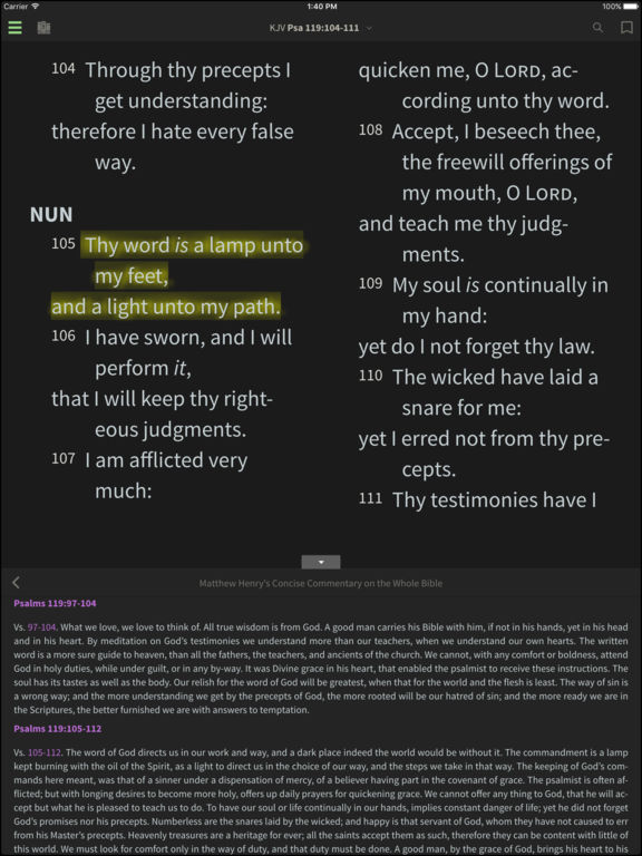 Bible+ screenshot