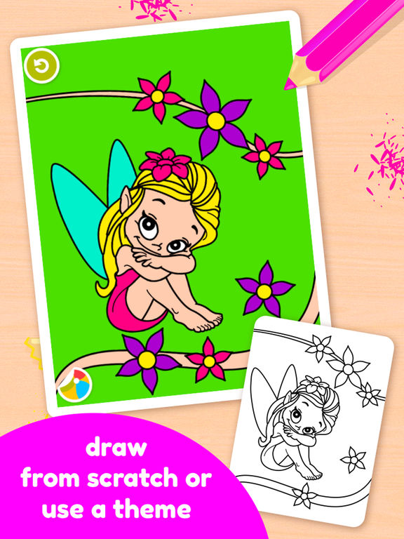 Doodle Coloring Book - Color & Draw (No Ads)screeshot 3