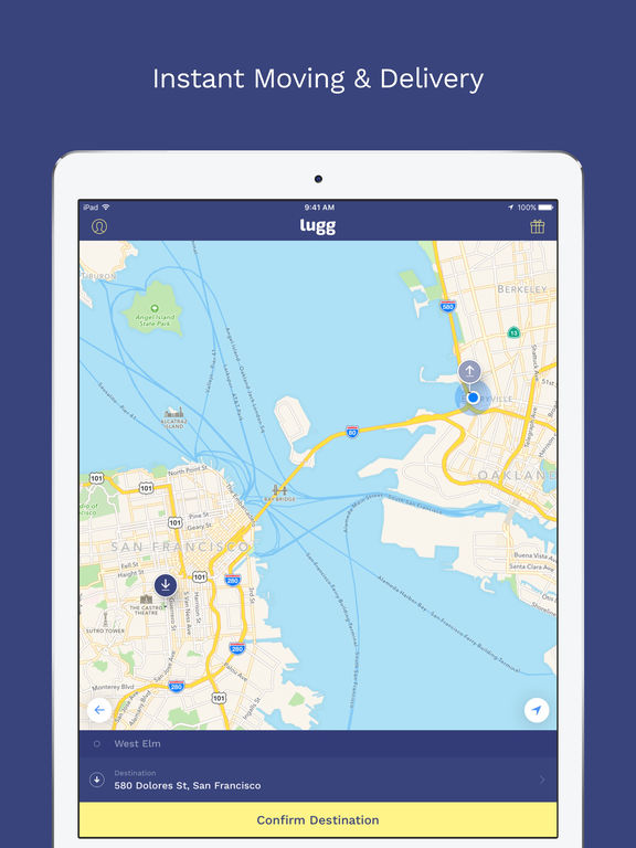 what is lugg app