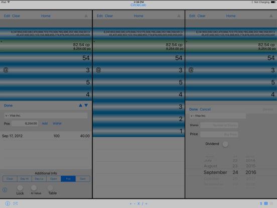 CircleCalc iPad Screenshot 1