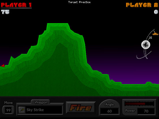Pocket Tanks Deluxe iPad Screenshot 5