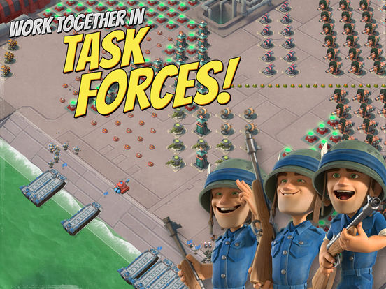 Boom Beach Screenshots