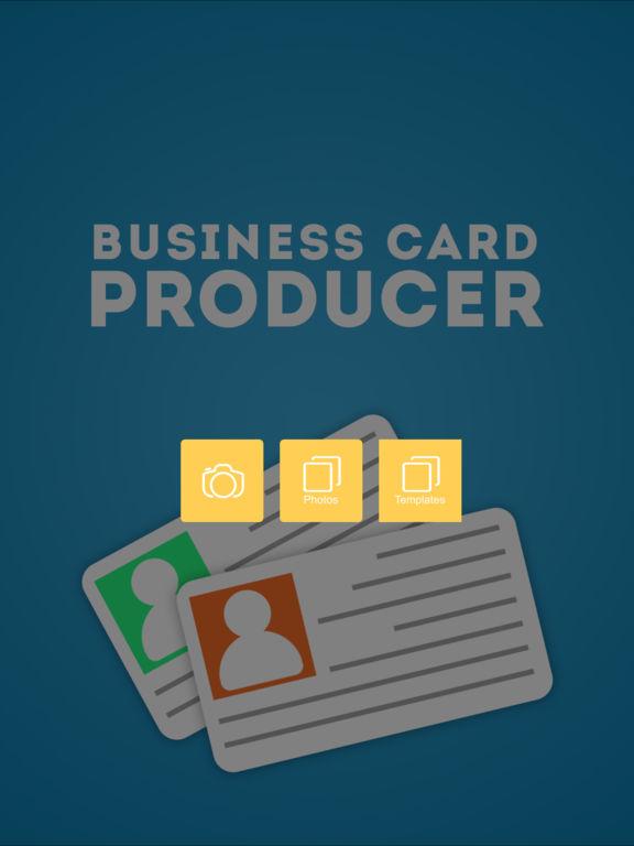 App Shopper Business Card Producer Business