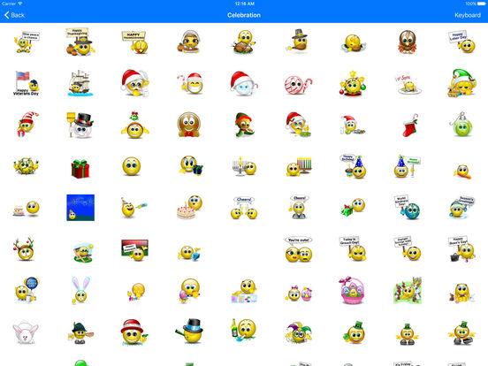 Animated 3D Emoji Emoticons screenshot 9