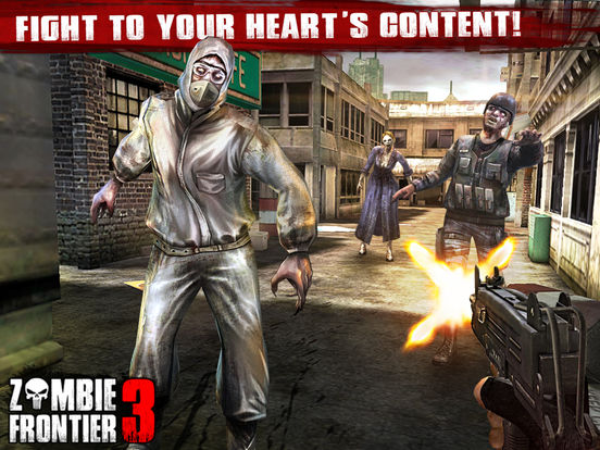 Screenshots of Zombie Frontier 3 – Top Zombie Shooting Game for iPad