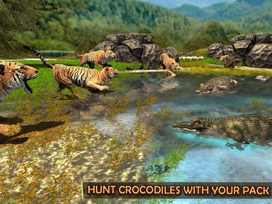 Скачать игру Жизнь дикий тигр - Джунгли история выживания