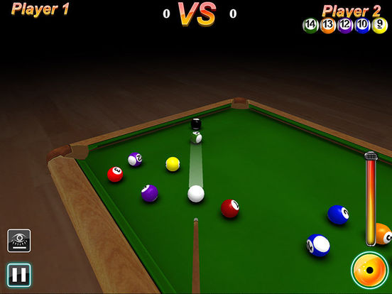 Ace Pool 3D HD iPad Screenshot 1