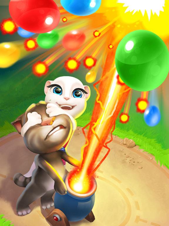汤姆猫泡泡射手
