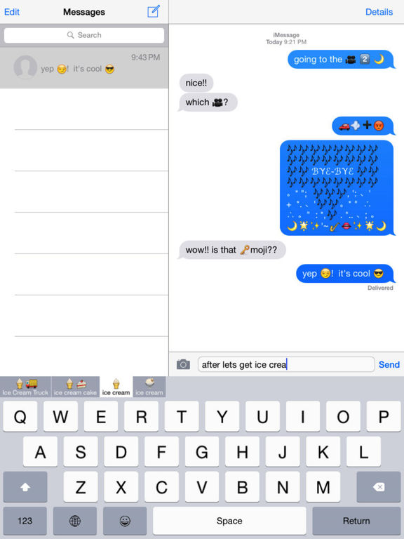 Keymoji Premium Emoji Keyboard Screenshots