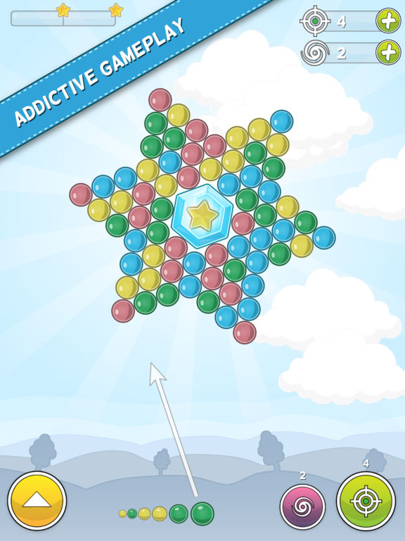 Bubble Cloud - Spinning Bubble Shooter on the App Store