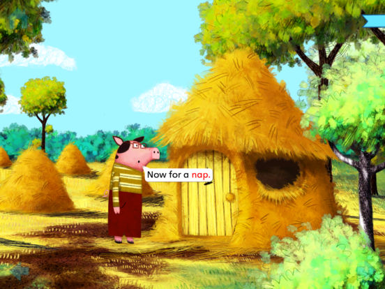 The Three Little Pigs-Nosy Crow interactive storybook (iPad) iPad Screenshot 2