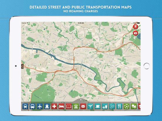 Glasgow: Travel Guide iPad Screenshot 4