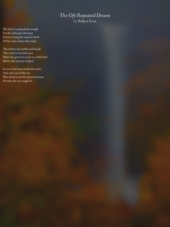 Pocket Poetry screenshot