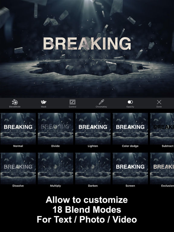 IntroMovies - Intro maker designer for iMovie (HD) Screenshots