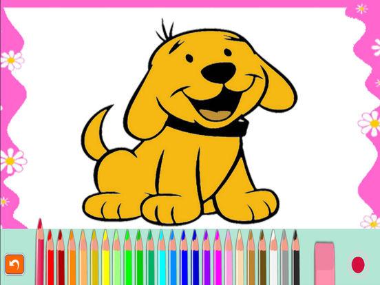 Мультфильм книжка-раскраска для малыша Скриншоты7