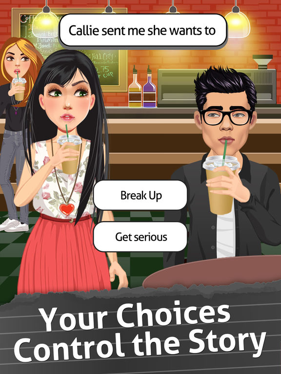 Gossip Life - The Interactive Episode Story Game screenshot