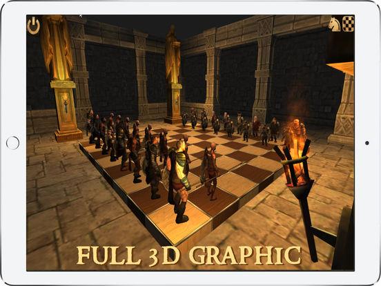Battle Chess 3D iPad Screenshot 3
