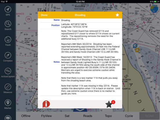 Marine: Adelaide HD - GPS Map Navigator iPad Screenshot 4