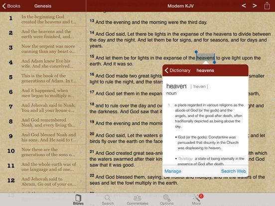 Mega Bibles (Bible App) iPad Screenshot 1