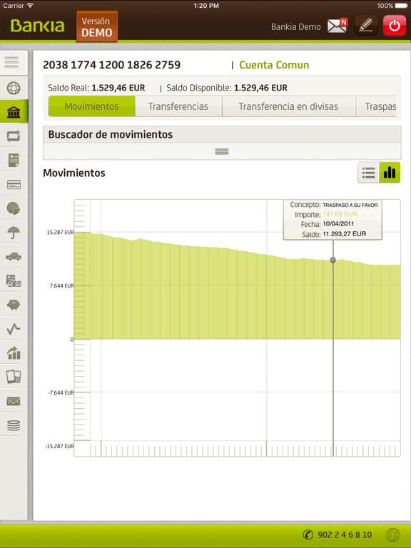Bankia on the app store for Bankia oficina movil
