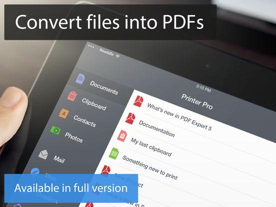 Printer Pro Lite iPad Screenshot 4