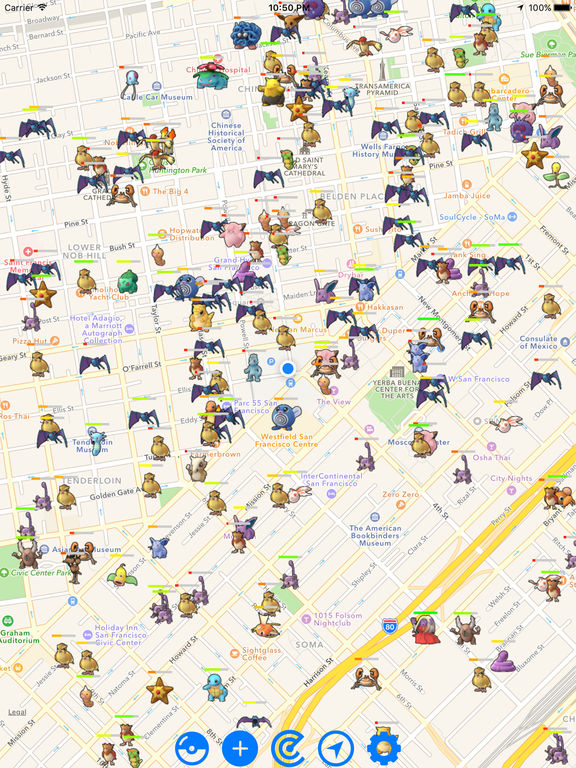 Pokemon GO Map Radar - Find live realtime pokemons-ipad-1