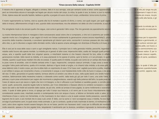 Timeo (ovvero Della natura) – Platone iPad Screenshot 1