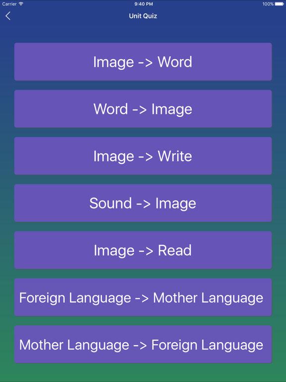 German Word - Learn German Vocabulary Easy Screenshots