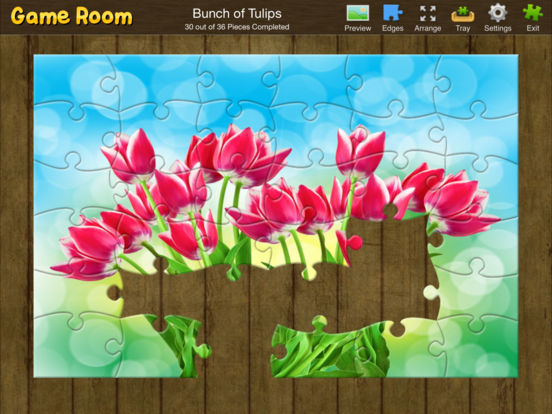 Jigsaw Box iPad Screenshot 1