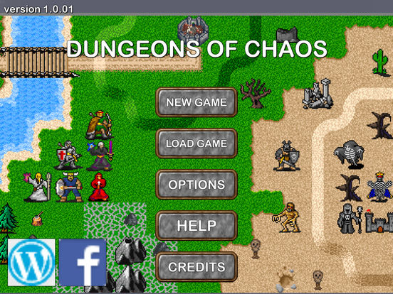 Dungeons of Chaos UNITY EDITION Screenshots
