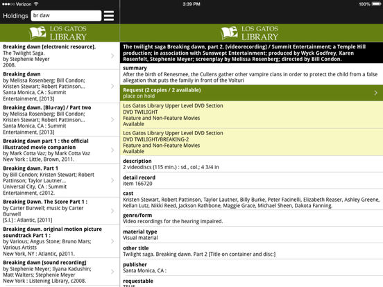 LGPL iPad Screenshot 3