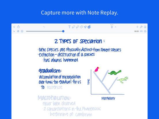 Notability screenshot