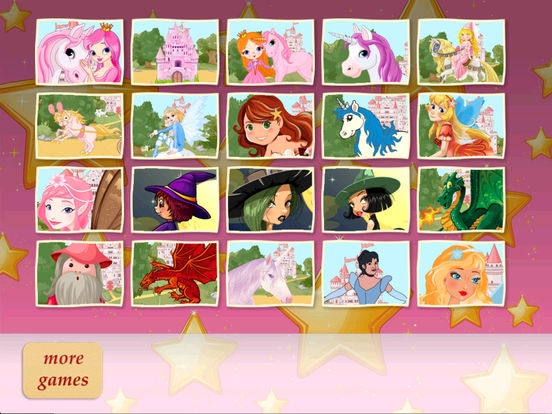 Fairyland Puzzle - Magic Puzzle for kids and toddlers (Premium) Screenshots