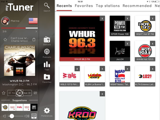 myTuner Radio screenshot