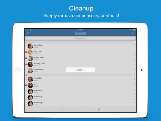 Screenshot #5 for Easy Backup Pro - Contacts Backup Assistant