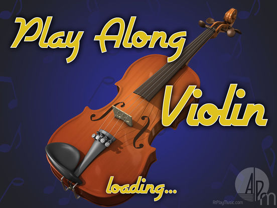 PlayAlong Violin screenshot