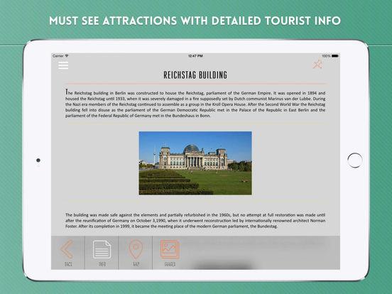 Berlin: Travel Guide iPad Screenshot 3